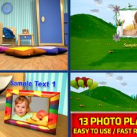 VIDEOHIVE BABY PHOTO ALBUM – AFTER EFFECTS TEMPLATE