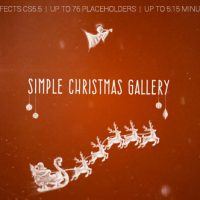 VIDEOHIVE SIMPLE CHRISTMAS GALLERY FREE DOWNLOAD