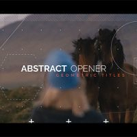 VIDEOHIVE ABSTRACT OPENER – GEOMETRIC TITLES FREE DOWNLOAD