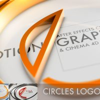VIDEOHIVE CIRCLES LOGO C4D – AFTER EFFECTS TEMPLATE
