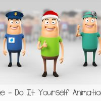 GEORGE – CHARACTER ANIMATION DIY KIT – VIDEOHIVE