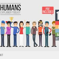 VIDEOHIVE HUMANS EXPLAINER TOOLKIT – FREE AFTER EFFECTS TEMPLATE
