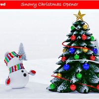 VIDEOHIVE SNOWY CHRISTMAS OPENER FREE DOWNLOAD