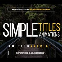 VIDEOHIVE 45 SIMPLE TITLES (EDITION SPECIAL) FREE DOWNLOAD