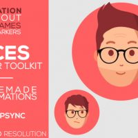 VIDEOHIVE FACES | EXPLAINER-TOOLKIT FREE DOWNLOAD