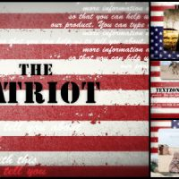VIDEOHIVE THE PATRIOT FREE AFTER EFFECTS TEMPLATE