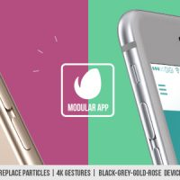 VIDEOHIVE MODULAR APP PROMO FREE AFTER EFFECTS TEMPLATE