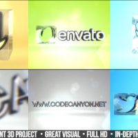 VIDEOHIVE SIMPLE 3D LOGO – AFTER EFFECTS TEMPLATE