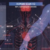 VIDEOHIVE HUMAN SCAN V2 FREE AFTER EFFECTS TEMPLATE