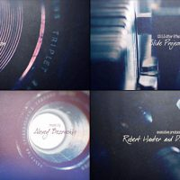 VIDEOHIVE SLIDE PROJECTOR TITLES FREE AFTER EFFECTS TEMPLATE