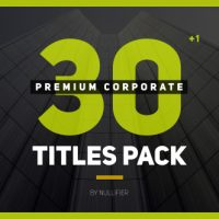 VIDEOHIVE 30+1 PREMIUM CORPORATE TITLES PACK FREE DOWNLOAD
