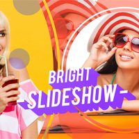 VIDEOHIVE BRIGHT SLIDESHOW – AFTER EFFECTS TEMPLATE