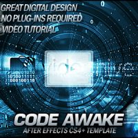 VIDEOHIVE CODE AWAKE – FREE AFTER EFFECTS TEMPLATE