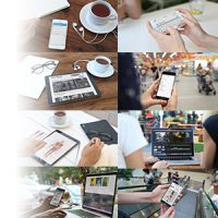 VIDEOHIVE BIGGEST MOCKUP KIT DIGITAL DEVICE MOCKUPS