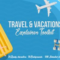VIDEOHIVE TRAVEL & VACATIONS EXPLAINER TOOLKIT FREE DOWNLOAD
