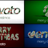 CHRISTMAS LOGO – AFTER EFFECTS PROJECT (VIDEOHIVE)