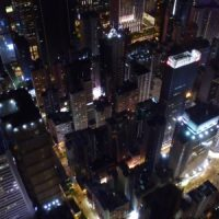 AERIAL VIEW OF CITY AT NIGHT – STOCK FOOTAGE (VIDEOHIVE)