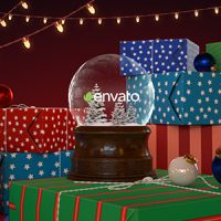 VIDEOHIVE CHRISTMAS SNOW GLOBE FREE DOWNLOAD