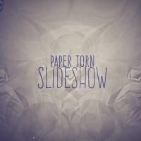 PAPER TORN SLIDESHOW – AFTER EFFECTS TEMPLATE (MOTION ARRAY)