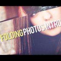 FOLDING PHOTOS INTRO – AFTER EFFECTS TEMPLATE (MOTION ARRAY)