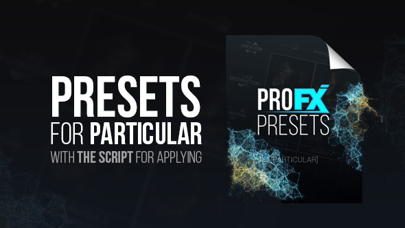 VIDEOHIVE PRO FX PRESETS [PARTICULAR] FREE DOWNLOAD - Free