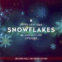 VIDEOHIVE SNOWFLAKES 4K OPENERS