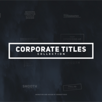 VIDEOHIVE CORPORATE TITLES PACK FREE DOWNLOAD