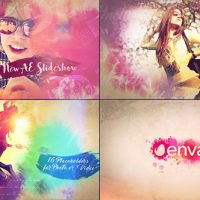 VIDEOHIVE WATERCOLOR SLIDESHOW 17733386 FREE DOWNLOAD