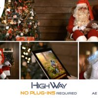 VIDEOHIVE SANTA CLAUS WITH MAGIC IPAD FREE DOWNLOAD