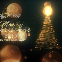 VIDEOHIVE CHRISTMAS PARTICLE LOGO FREE DOWNLOAD
