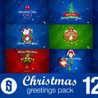 VIDEOHIVE CHRISTMAS PACK INTRO – OUTRO – LOGO OPENERS