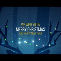 VIDEOHIVE CHRISTMAS DEER FREE DOWNLOAD