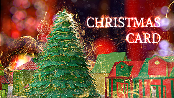 Videohive Christmas Card 18951314 Free