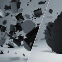 VIDEOHIVE ELEGANT 3D SHATTER LOGO FREE DOWNLOAD