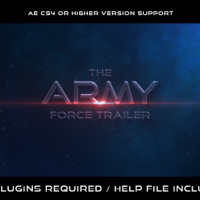 VIDEOHIVE THE ARMY FORCE TRAILER FREE DOWNLOAD