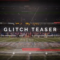 VIDEOHIVE CINEMATIC GLITCH TEASER FREE DOWNLOAD