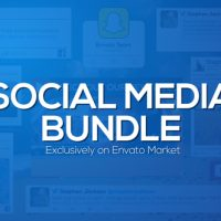 VIDEOHIVE SOCIAL MEDIA BUNDLE FREE DOWNLOAD