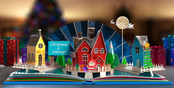 VIDEOHIVE CHRISTMAS POP-UP BOOK 2 FREE DOWNLOAD - Free After Effects ...