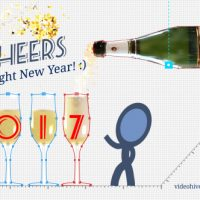 VIDEOHIVE NEW YEAR GREETINGS FREE DOWNLOAD