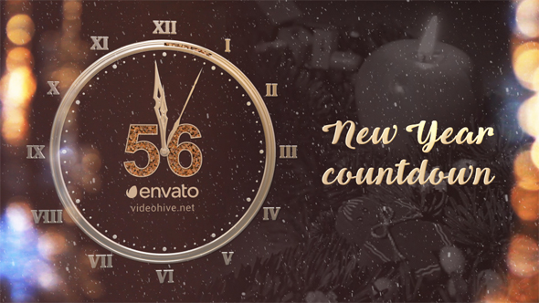 VIDEOHIVE NEW YEAR COUNTDOWN 2017 FREE DOWNLOAD - Free After