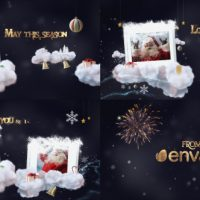 VIDEOHIVE ONE WISH CHRISTMAS BUNDLE TEMPLATE