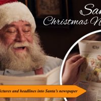 VIDEOHIVE SANTA'S CHRISTMAS NEWSLETTER FREE DOWNLOAD