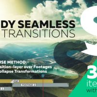 VIDEOHIVE HANDY SEAMLESS TRANSITIONS | PACK & SCRIPT