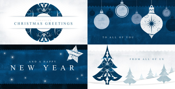 VIDEOHIVE PARALLAX CHRISTMAS GREETINGS FREE DOWNLOAD - Free After ...