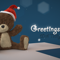 VIDEOHIVE CHRISTMAS TEDDY BEAR GREETINGS FREE DOWNLOAD