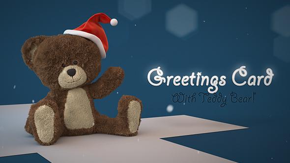 VIDEOHIVE CHRISTMAS TEDDY BEAR GREETINGS FREE DOWNLOAD