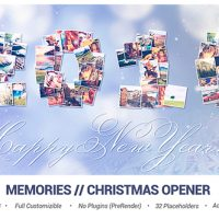 VIDEOHIVE MEMORIES // CHRISTMAS OPENER FREE DOWNLOAD