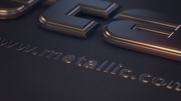 VIDEOHIVE METALLIC TEXT FREE DOWNLOAD - Free After Effects Template ...