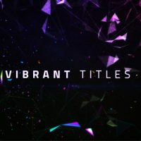 VIDEOHIVE VIBRANT TITLES FREE AFTER EFFECTS TEMPLATE