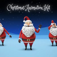 SANTA – CHRISTMAS ANIMATION DIY KIT – VIDEOHIVE